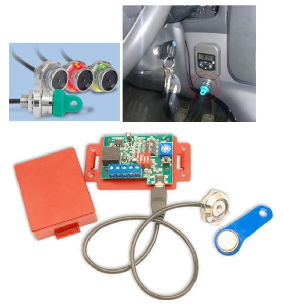 4G GPS Driver ID System,driver identification digital keys,build a work hours profile for each driver