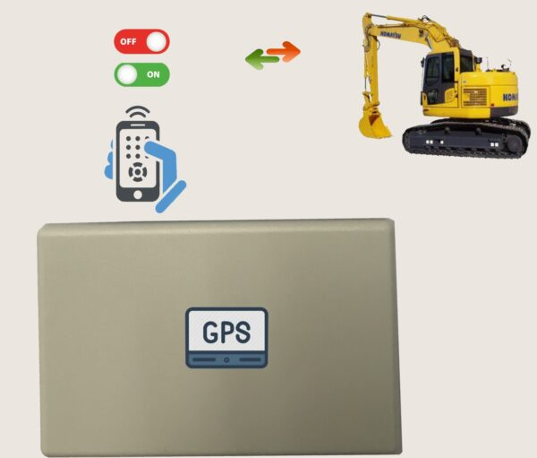 4G GPS Remote Machine Disable,Remote Switch-Off Relay,one year service included
